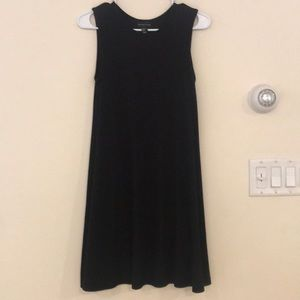 Long Black SleevelessAdrienne Vittadini Dress
